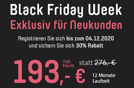 Black Friday Week für Ferienhausbesitzer