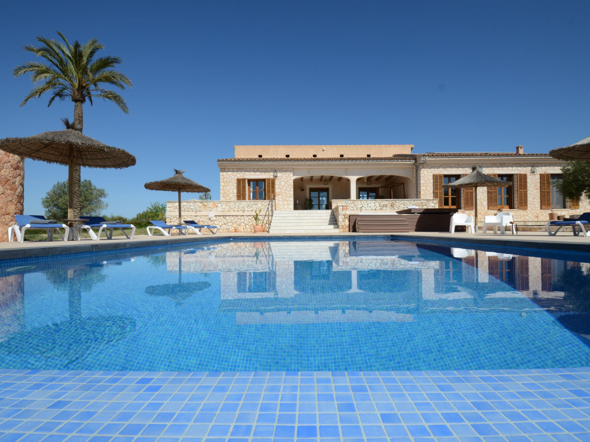 vacation home with pool on Mallorca