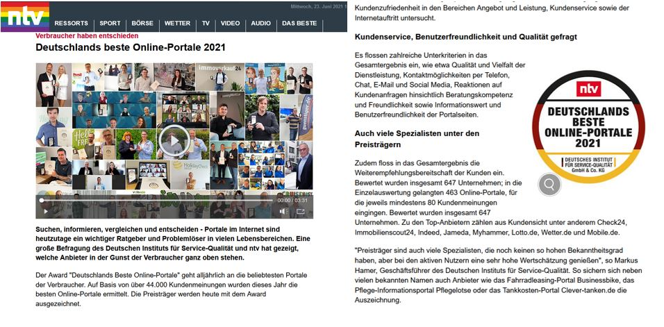 ntv Artikel Screenshot